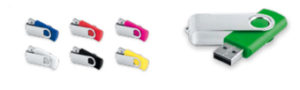 Tipos de memorias USB que fabricamos en Abadias